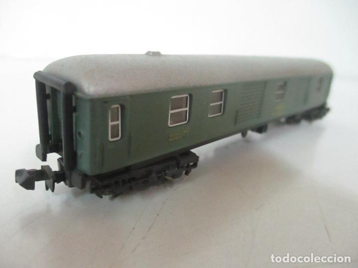 Trenes Escala: Ibertren - Vagón Renfe - Ref 201 - Escala N - con Caja - Original - Foto 3 - 139026025