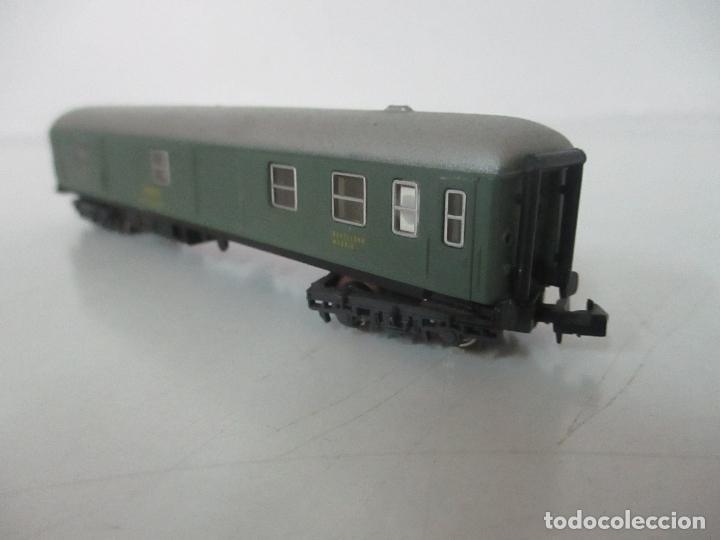 Trenes Escala: Ibertren - Vagón Renfe - Ref 201 - Escala N - con Caja - Original - Foto 6 - 139026025