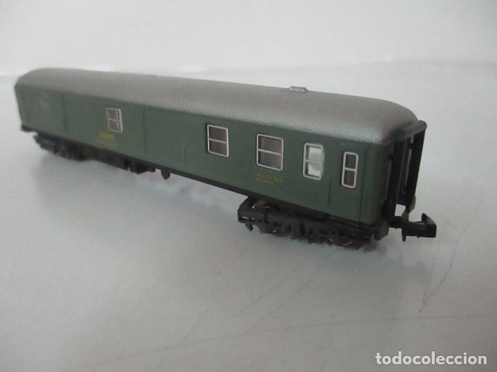Trenes Escala: Ibertren - Vagón Renfe - Ref 201 - Escala N - con Caja - Original - Foto 7 - 139026025