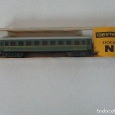 Trenes Escala: IBERTREN - VAGÓN - COCHE DE VIAJEROS 3ª CLASE - REF 226 - ESCALA N - CON CAJA - ORIGINAL. Lote 121310435