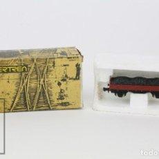 Trenes Escala: VAGÓN IBERTREN - VAGÓN BORDE MEDIO CON GRAVA - REF. 3203/G - TREN ESCALA N - ESPAÑA. Lote 121333911