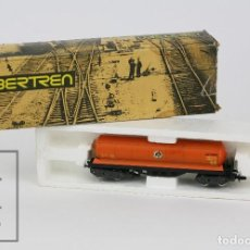 Trenes Escala: VAGÓN IBERTREN - VAGÓN CISTERNA 4 EJES BUTANO (C.BUT.) - REF. 361 - TREN ESCALA N - ESPAÑA. Lote 121335619