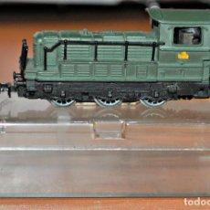 Trenes Escala: LOCOMOTORA DIESEL MANIOBRAS DE LA S.N.C.F. VERDE DE IBERTREN, REF. 011. ESCALA 3N. Lote 122297507