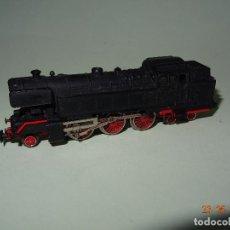 Trenes Escala: ANTIGUA LOCOMOTORA TENDER A VAPOR DB 66 DE IBERTREN EN ESCALA *3-N*. Lote 122315399