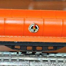Trenes Escala: VAGÓN CISTERNA 4 EJES BUTANO COLOR NARANJA DE IBERTREN, REF. 361. ESCALA N. Lote 122721147