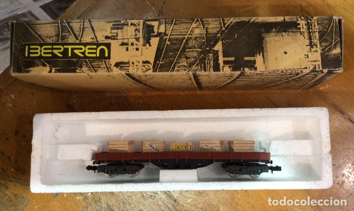 Trenes Escala: IBERTREN,VAGÓN CON CAJAS, AÑOS 70/80 - Foto 2 - 122814431