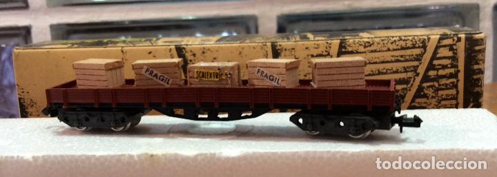 Trenes Escala: IBERTREN,VAGÓN CON CAJAS, AÑOS 70/80 - Foto 3 - 122814431
