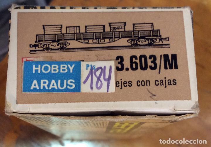 Trenes Escala: IBERTREN,VAGÓN CON CAJAS, AÑOS 70/80 - Foto 5 - 122814431