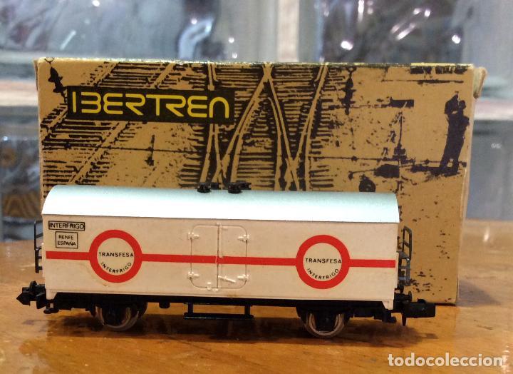 IBERTREN,VAGÓN FRIGORÍFICO TRANSFESA, AÑOS 70/80 (Juguetes - Trenes a escala N - Ibertren N)
