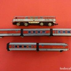 Trenes Escala: IBERTREN ESCALA N. TREN TALGO LOCOMOTORA Y VAGONES.. Lote 125030983