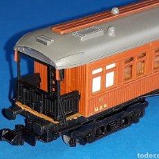 Trenes Escala: COCHE PASAJEROS COSTA 4 EJES MZA MATARÓ REF. 222, IBERTREN ESC. N, ORIGINAL AÑOS 70-80.. Lote 125219814