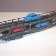 Trenes Escala: IBERTREN VAGON PORTACOCHES BUEN ESTADO,BARATO. Lote 125233971