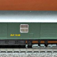 Trenes Escala: FURGÓN DE EQUIPAJES VERDE DE LA SERIE 8000 DE RENFE DE IBERTREN, REF. 205. ESCALA N. Lote 125906439