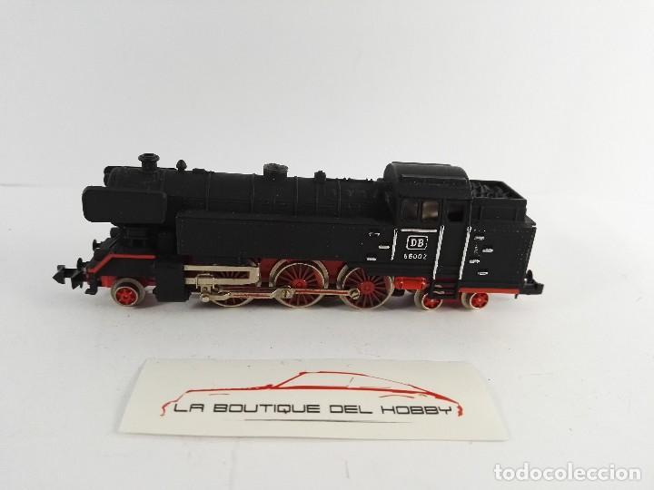 LOCOMOTORA DE VAPOR 66002 DB IBERTREN 3N ESCALA N (Juguetes - Trenes a escala N - Ibertren N)