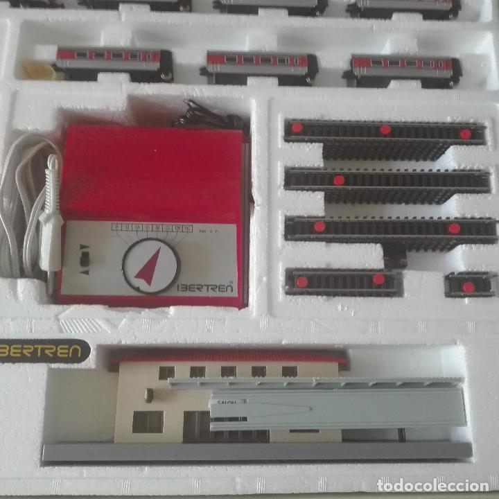 Scale Trains: ibertren referencia 150 escala 3 n completa y como nueva locomotora virgen del carmen talgo completa - Foto 5 - 127504319