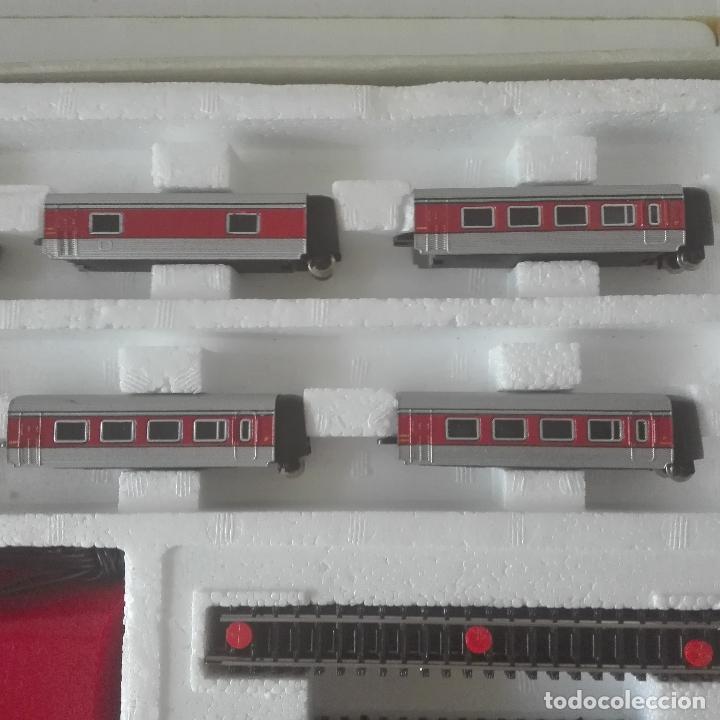 Scale Trains: ibertren referencia 150 escala 3 n completa y como nueva locomotora virgen del carmen talgo completa - Foto 6 - 127504319
