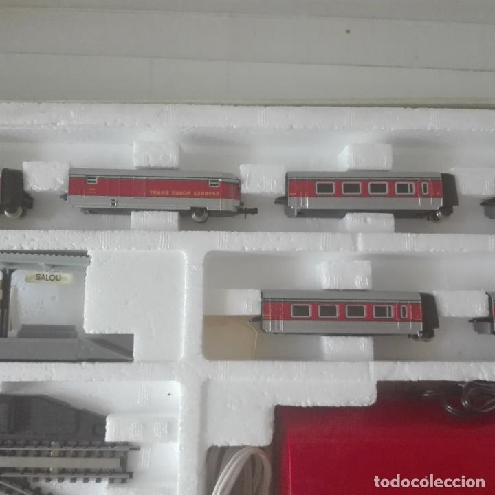 Scale Trains: ibertren referencia 150 escala 3 n completa y como nueva locomotora virgen del carmen talgo completa - Foto 7 - 127504319