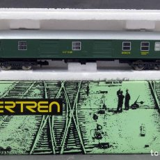 Trenes Escala: VAGÓN IBERTREN FURGÓN MERCANCÍAS ESCALA N EN CAJA AÑOS 70 REF 2103. Lote 133010066