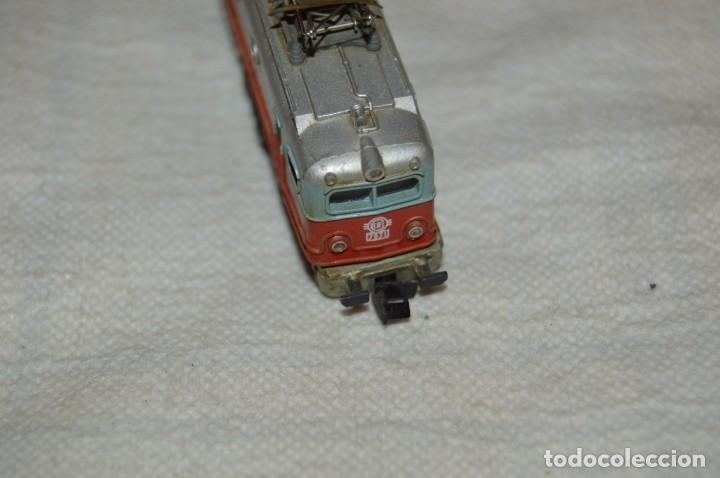 Trenes Escala: LOCOMOTORA IBERTREN 3N - ESCALA N (3N) - MADE IN SPAIN - ANTIGUA - MIRA LAS FOTOS - ¡Mira! - Foto 6 - 133378462