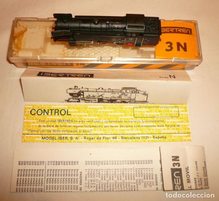 Trenes Escala: LOCOMOTORA DE VAPOR S.66-D.B. REF. 017 IBERTREN 3N - Foto 3 - 133584774