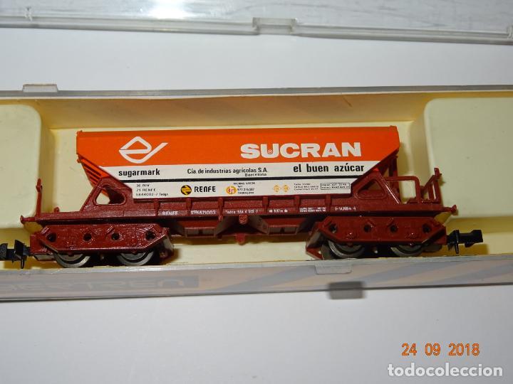 Antiguo Vagón Tolva 4 Ejes SUCRAN Ref. 476 en Escala *N* de IBERTREN segunda mano
