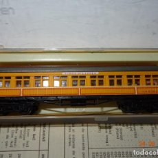 Trenes Escala: ANTIGUO COCHE VIAJEROS FEVE COSTA LIMÓN EXPRÉS REF. 244 EN ESCALA *N* DE IBERTREN - AÑO 1980S.. Lote 134245910