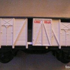 Trenes Escala: FURGON CRUZ ROJA IBERTREN N REF. 346. Lote 134440034