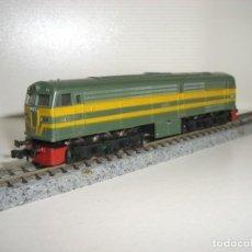 Trenes Escala: IBERTREN 3N LOCOMOTORA ALCO 2100 (CON COMPRA DE 5 LOTES O MAS ENVÍO GRATIS). Lote 135035258