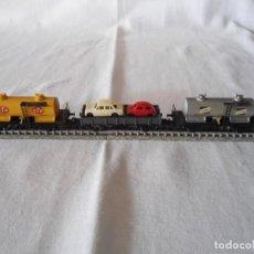Trenes Escala: LOTE TRES VAGONES IBERTREN ESCALA N. Lote 136030074