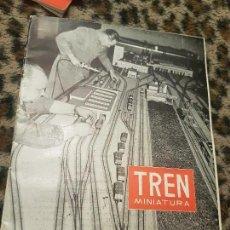 Trenes Escala: REVISTA TREN MINIATURA, AÑO 1959. Lote 136137618