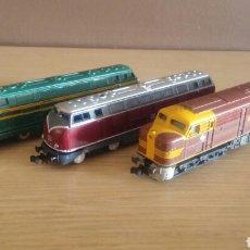 Trenes Escala: LOTE DE 3 LOCOMOTORAS IBERTREN N. Lote 136584637