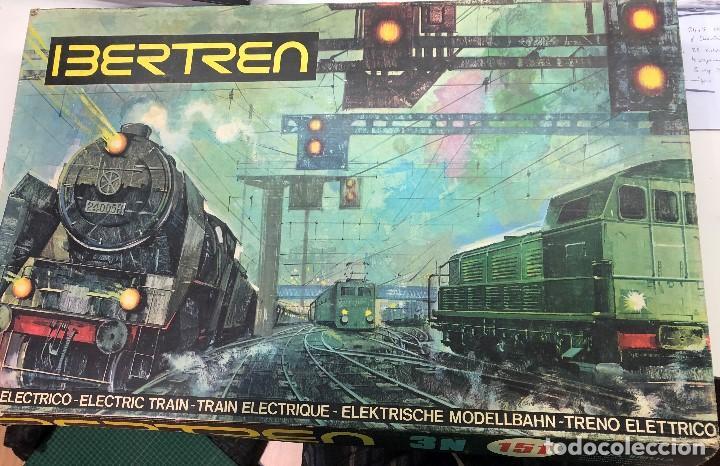 Caja completa IBERTREN 3N 151 - año 1975 segunda mano