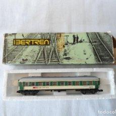 Trenes Escala: VAGON VIAJEROS IBERTREN ESC. N CON CAJA. Lote 142045762