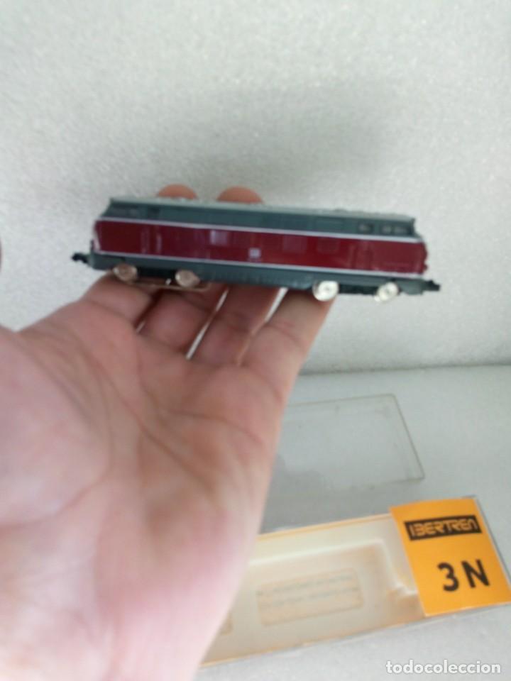 Trenes Escala: LOCOMOTORA DIESEL B.B. - DB DE IBERTREN, REF. 019, ESCALA 3N con papeles - Foto 3 - 142304718