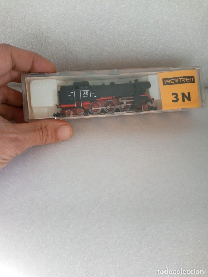 LOCOMOTORA DE VAPOR S.66 DE LA DB (NEGRA) DE IBERTREN REF. 017, ESCALA 3N (Juguetes - Trenes a escala N - Ibertren N)