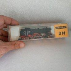 Trenes Escala: LOCOMOTORA DE VAPOR S.66 DE LA DB (NEGRA) DE IBERTREN REF. 017, ESCALA 3N. Lote 142305074