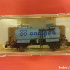 Trenes Escala: IBERTREN ESCALA N. VAGON CAMPSA EN CAJA ORIGINAL. Lote 143735830