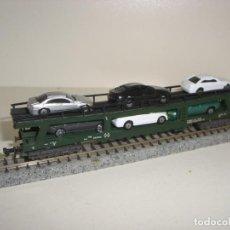 Trenes Escala: IBERTREN N PORTACOCHES (COCHES NO IBERTREN) (CON COMPRA DE 5 LOTES O MAS ENVÍO GRATIS). Lote 145739950