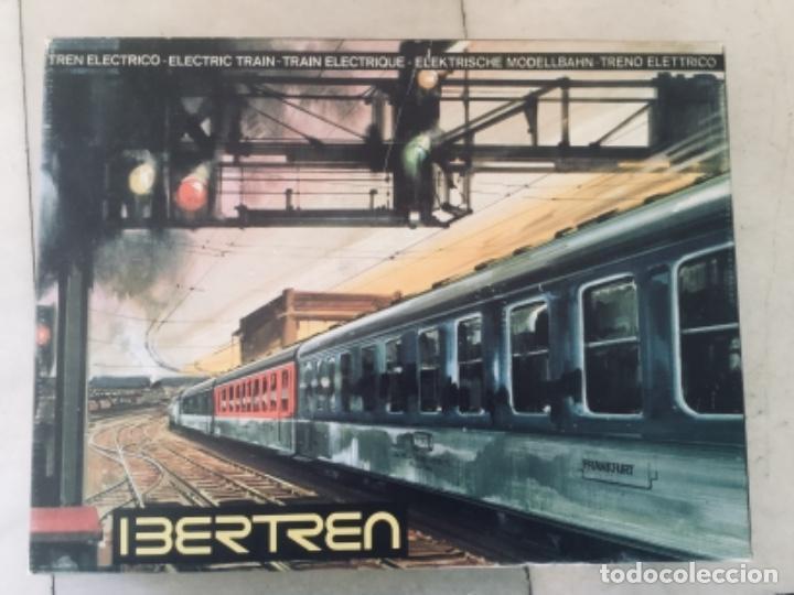 IBERTREN 3N-116. COMPLETO. FUNCIONANDO. AÑOS 70 (Juguetes - Trenes a escala N - Ibertren N)