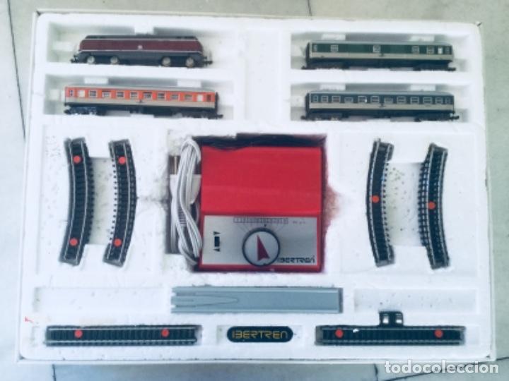 Trenes Escala: Ibertren 3N-116. Completo. Funcionando. Años 70 - Foto 2 - 145976990