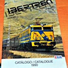 Trenes Escala: CATÁLOGO DE IBERTREN ESCALA N DEL AÑO 1990.. Lote 147773446