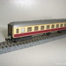 Trenes Escala - IBERTREN N pasajeros 1ª cl rojo-hueso serie 8000 (Con compra de cinco lotes o mas envío gratis) - 150134562