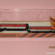 Trenes Escala: ANTIGUA PAREJA DE FURGONES TALGO FURGÓN DE COLA Y DE CABEZA ESCALA *N* REF. 281 DE IBERTREN. Lote 151436266