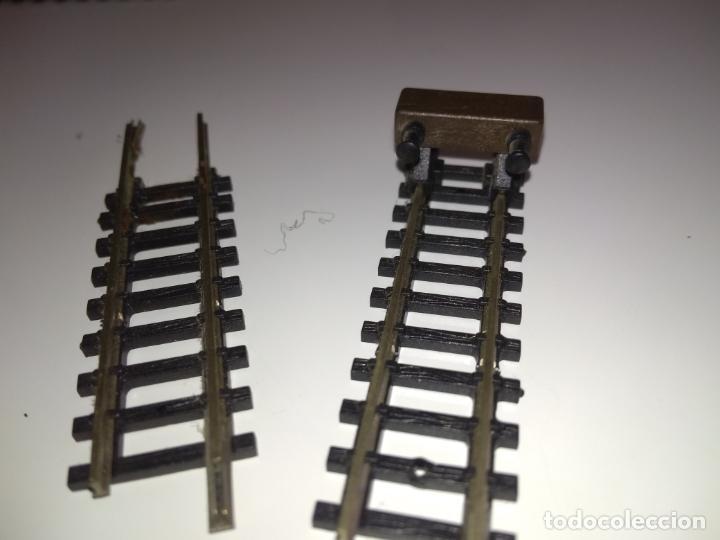 Trenes Escala: Ibertren 2N. Vía tope + recta pequeña regalo - Foto 3 - 181940397