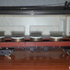 Trenes Escala: VAGÓN RENFE BOBINAS IBERTREN N 397. Lote 154539724