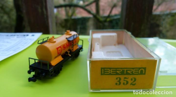 Trenes Escala: VAGON IBERTREN N CISTERNA SHELL 2 EJES REF. 352 - Foto 3 - 155038390