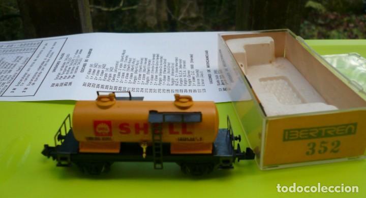 Trenes Escala: VAGON IBERTREN N CISTERNA SHELL 2 EJES REF. 352 - Foto 8 - 155038390