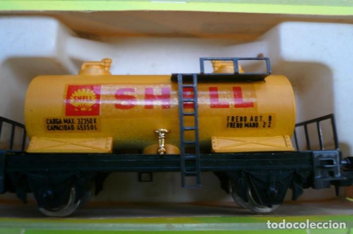 Trenes Escala: VAGON IBERTREN N CISTERNA SHELL 2 EJES REF. 352 - Foto 11 - 155038390
