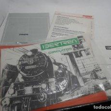 Trenes Escala: LOTE CATALOGO Y PLANOS DE IBERTREN . Lote 156633958