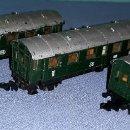 Trenes Escala: 3 VAGONES DE PASAJEROS DE IBERTREN ESCALA N ORIGINALES EN MUY BUEN ESTADO VER FOTOS Y DESCRIPCION. Lote 157872210